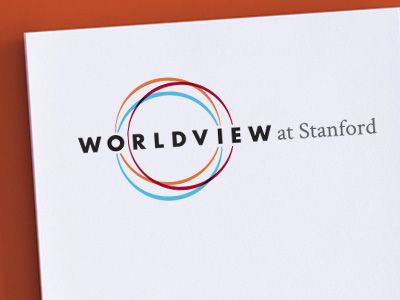 Worldview at stanford logo