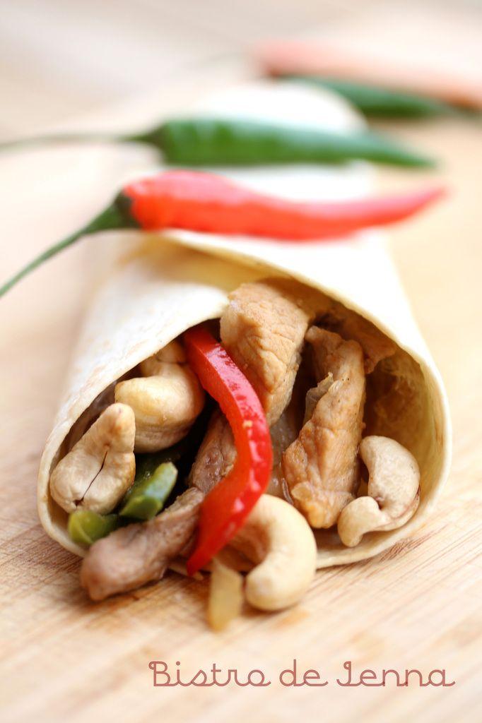 Tortillas veau et piment d'oiseau