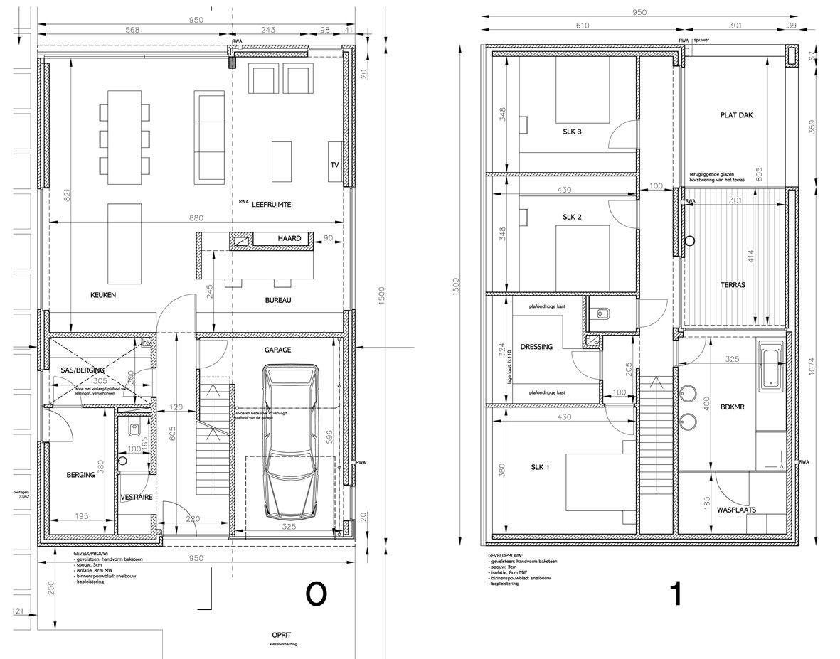 Plattegrond mooie woning google zoeken plattegrond for Grondplannen woningen