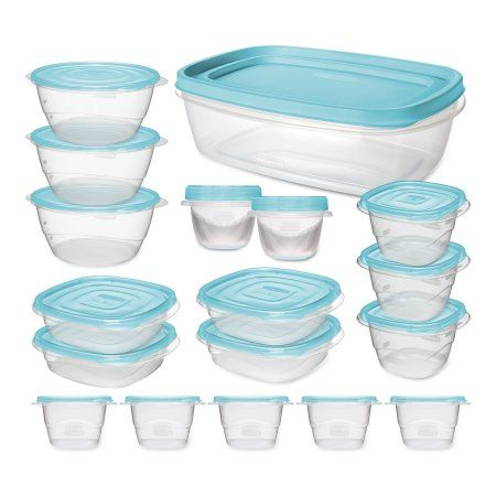 Rubbermaid TakeAlongs Food Storage Container 36 Piece Set with Bonus