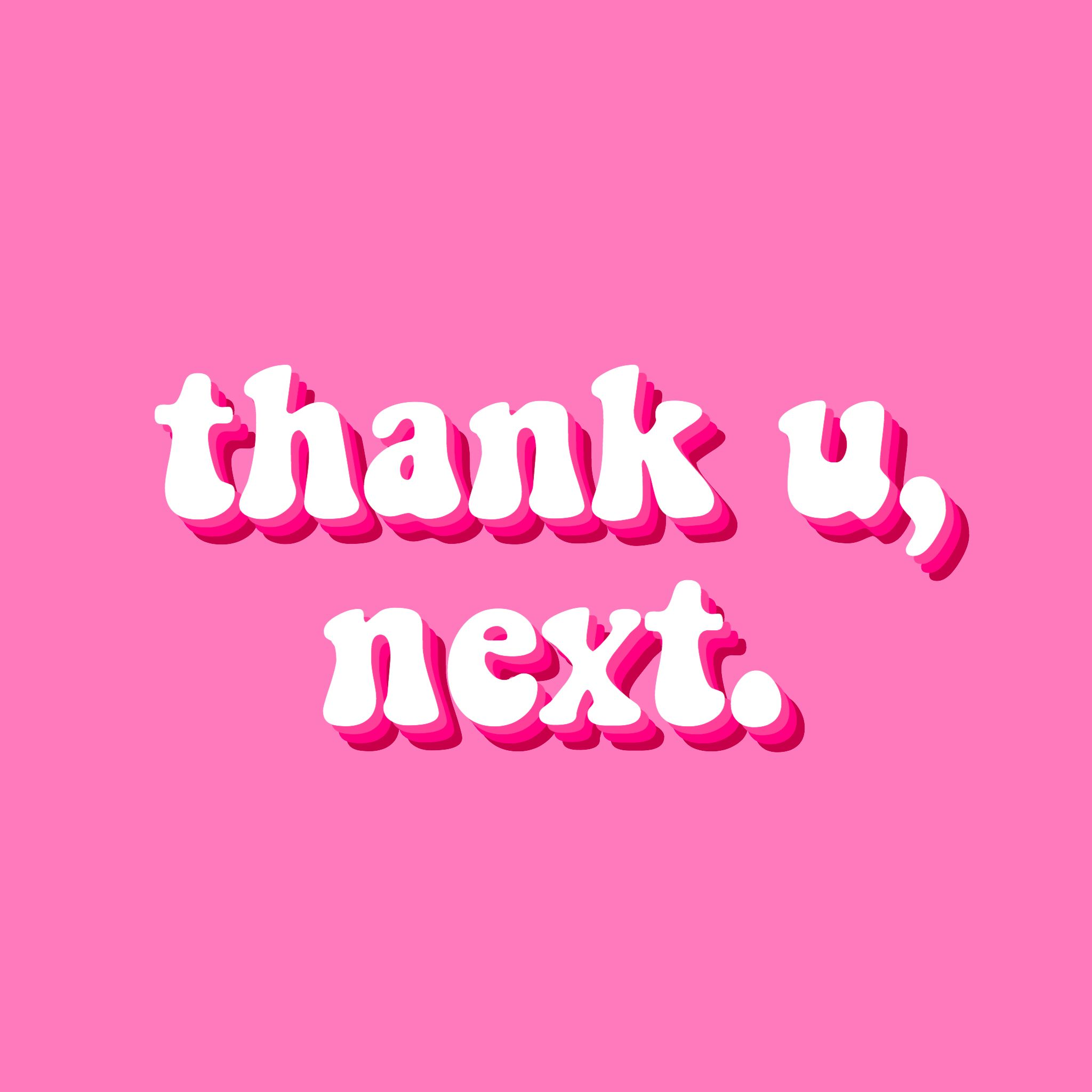 Thank You Next Ariana Grande Song Download: Wallpaper Aesthetic Arianagrande Thankyounext Quotes