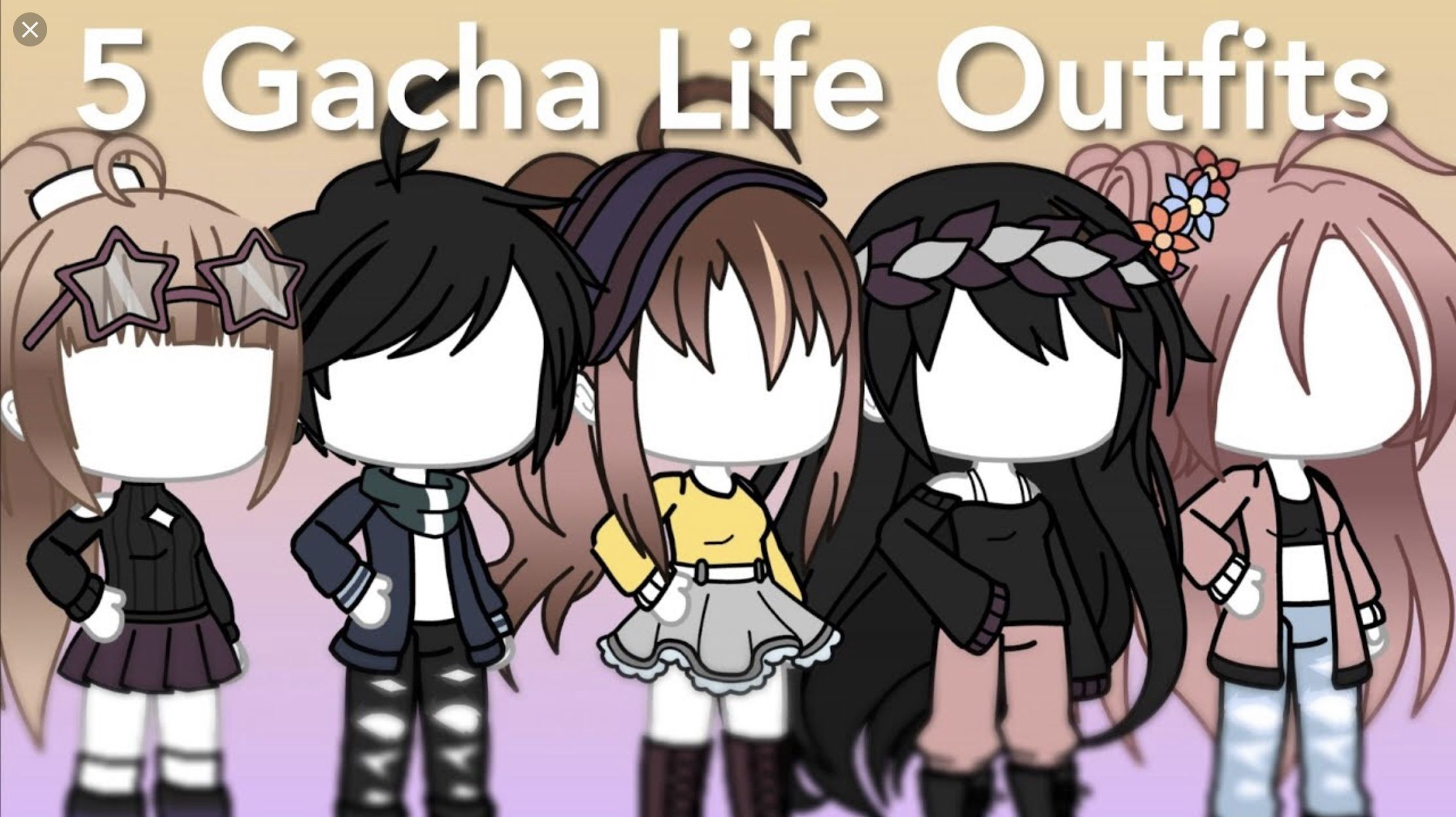 Pin By Kᑌᑎᒍᗩᒪ Gᗩᗯᒪi On Gacha Life Outfits With Images