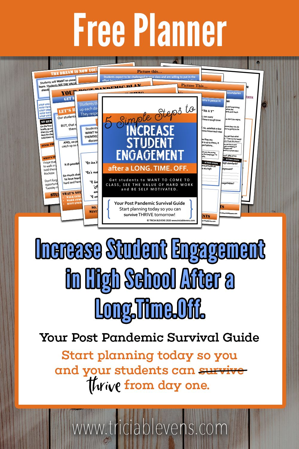 Increase Student Engagement in High School Post Pandemic