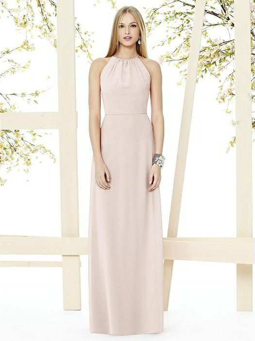 Social Bridesmaids Style 8151 Dessy Bridesmaid Dresses Halter