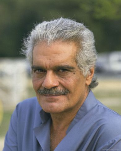Omar Sharif: A just-as-handsome older man. Class never gets old!! Plus a fine actor.