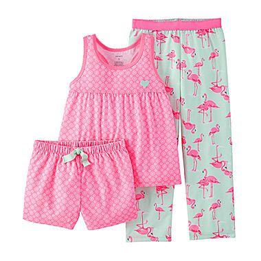 Flamingo Pajama Set – Preschool Girls 4-7 8ba91f4910a
