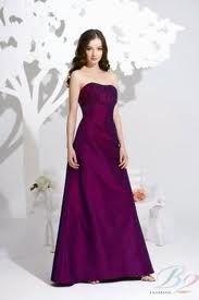 Beautiful grape coloured dress