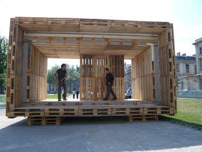 Awesome Die Paletten Haus, Ein Erschwingliches Haus Komplett Mit Holzpaletten3