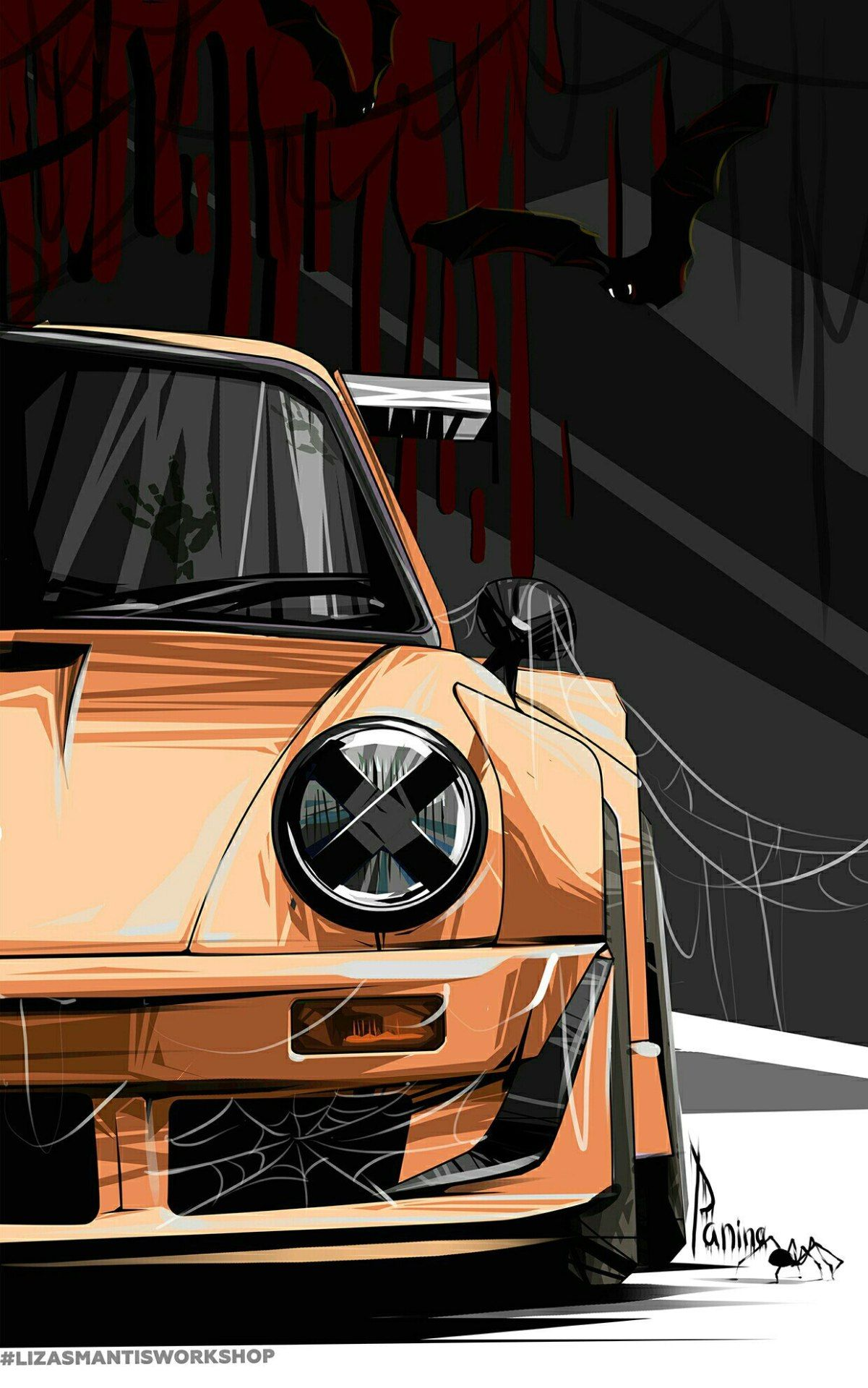 More Anime And Manga With Images Car Iphone Wallpaper Car