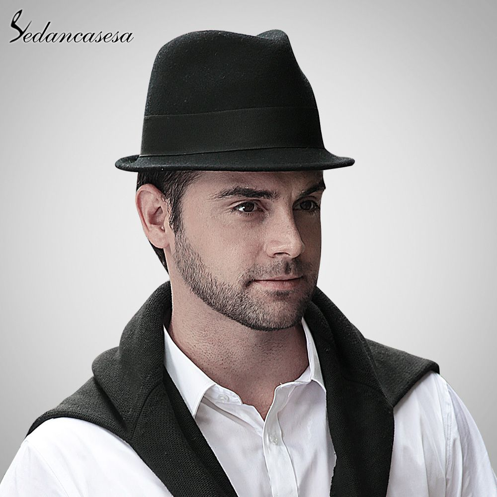 750a4f8b5518fa Men Trilby Hat wool Felt Hat With Australian Wool Male Fedora Hat England  Classic Style Formal Hat That`s just superb! #shop #beauty #Woman's fashion  ...