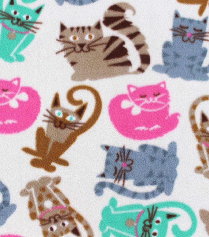 Antipill fleece fabric cat breeds fabric pinterest fleece