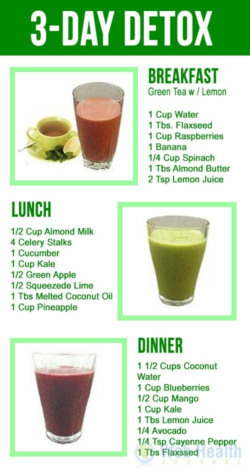 juice diet for weight loss plan 3 day