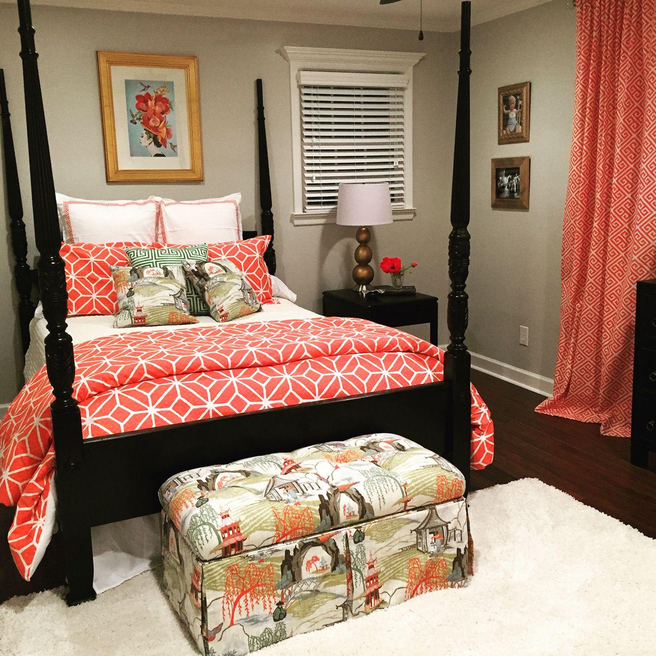 The Perfect Guest Bedroom! Trina Turk And Robert Allen Neo