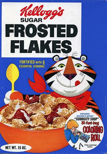 Sugar Frosted Flakes Ourselves Box Sugar Frosting Healthy Carbohydrate Foods Breakfast In America