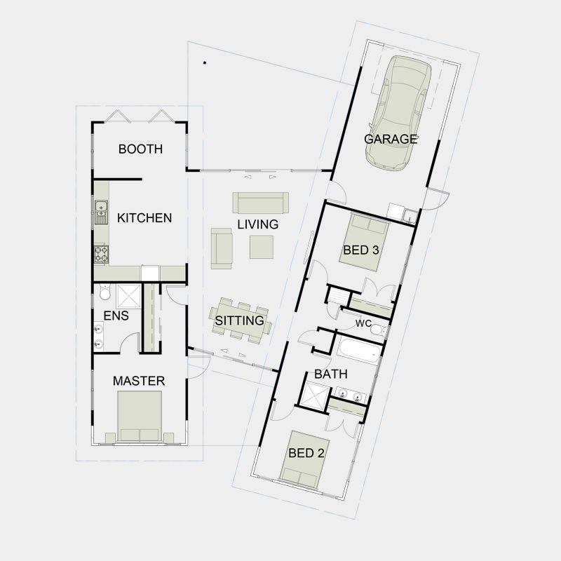 Nz simple functional floor for Functional floor plans