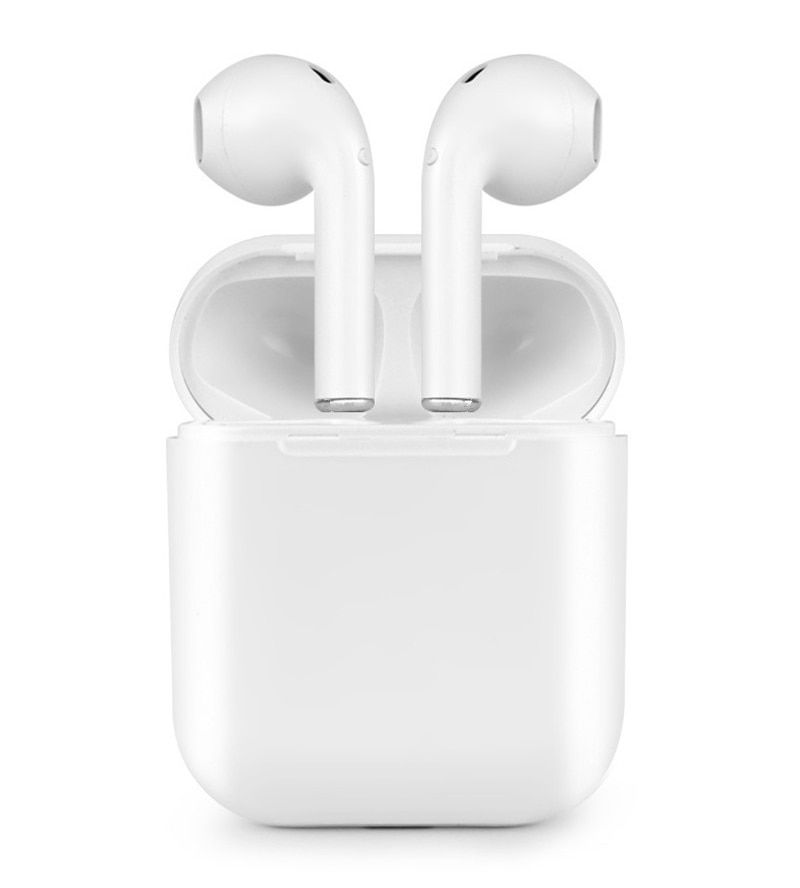 f8f3ca08ebb Sound & Sonic SS-WBHC-WT Wireless Earbuds Bluetooth v4.2 HD Stereo Sound  (White with Charging Case)