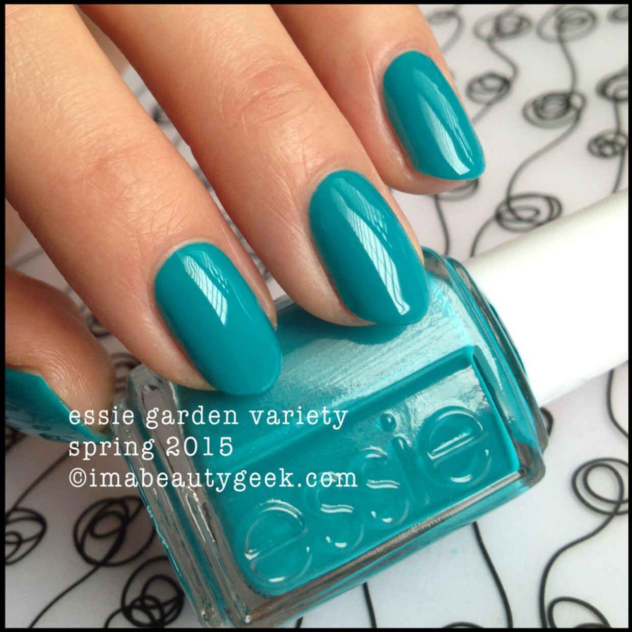 Essie Garden Variety – Essie Spring 2015   Nails!!   Pinterest ...
