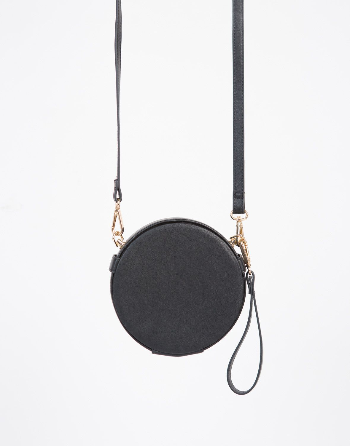 Show Off Some Individuality With This Round Crossbody Bag Comes In A Variety Of Colors Made From Faux Leather Material Features Shape
