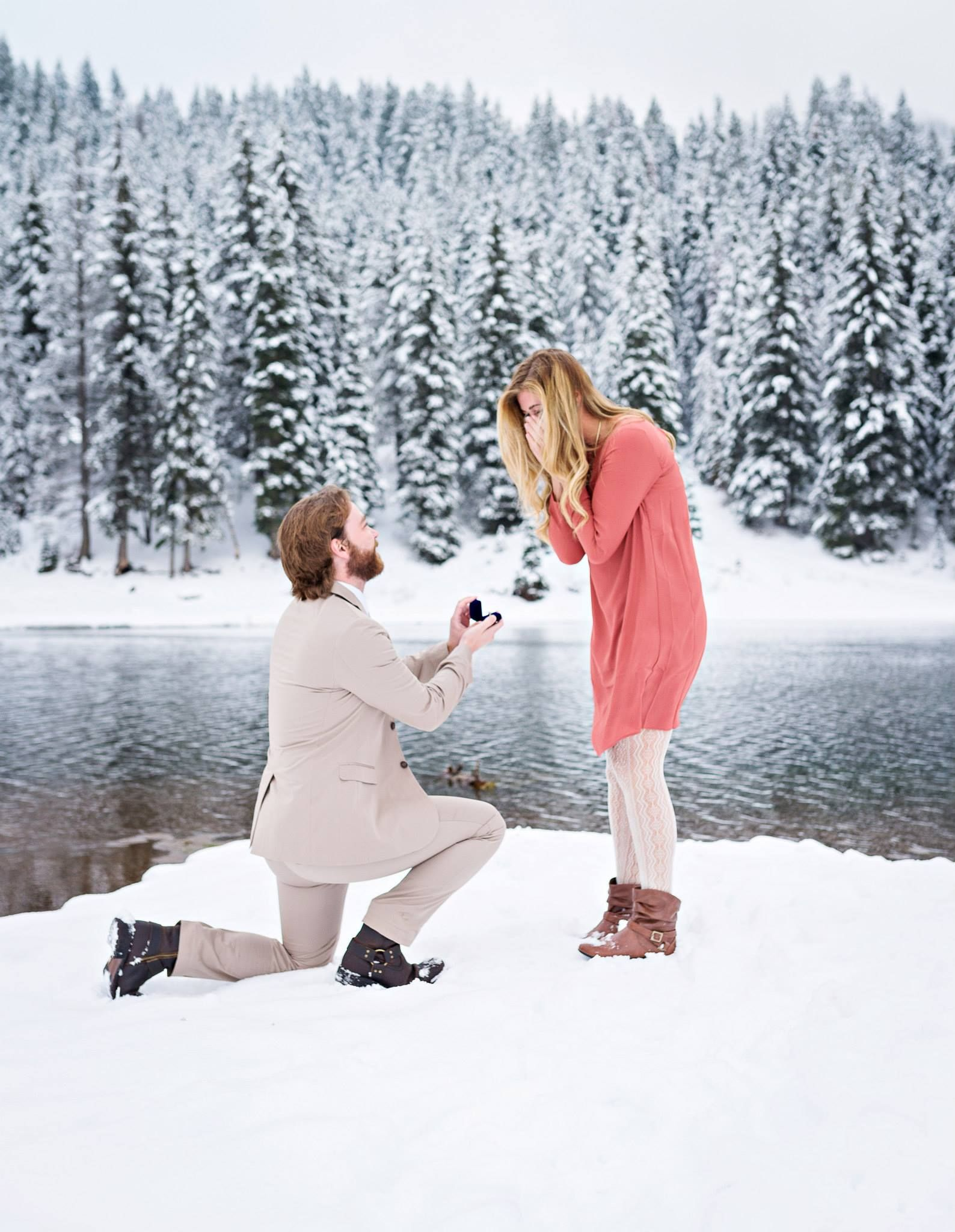 winter proposal | so this is love in 2018 | proposal, marriage