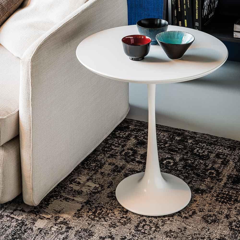 Cattelan Italia Couchtisch Hugo Weiss Couchtisch Tischplatte