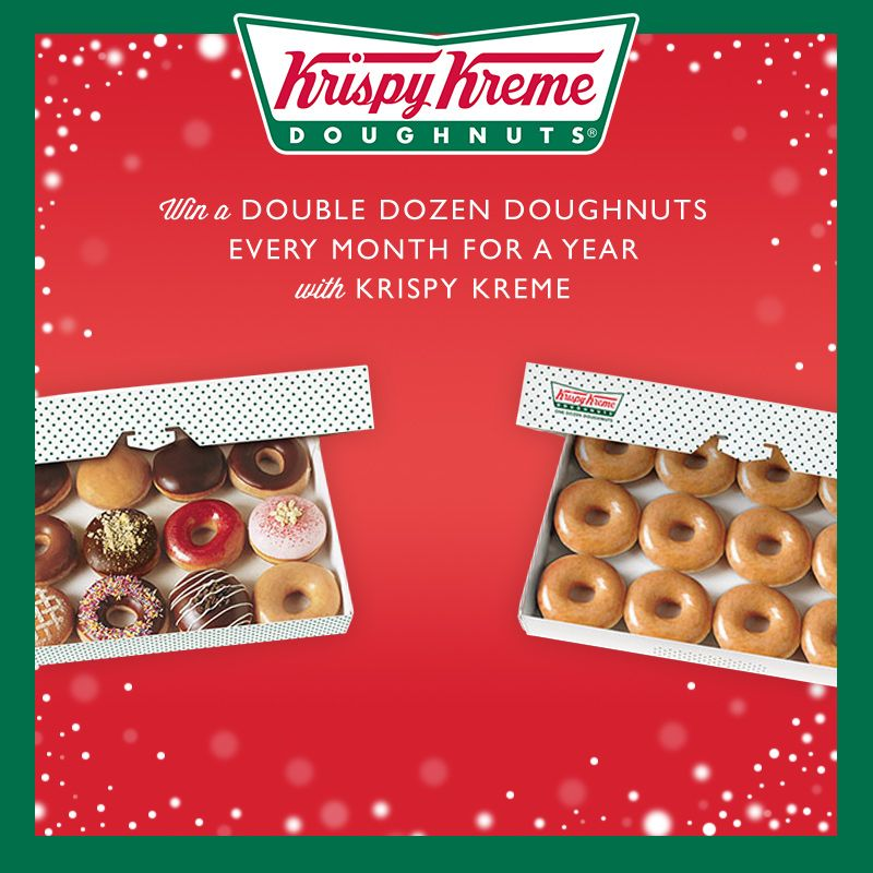 There's a year's supply of delicious doughnuts up for grabs from vouchercloud & Krispy Kreme. Don't keep your taste buds waiting, Enter now!