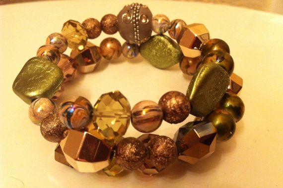 Wrap bracelet by GreatLakesDesigns on Etsy, $7.75