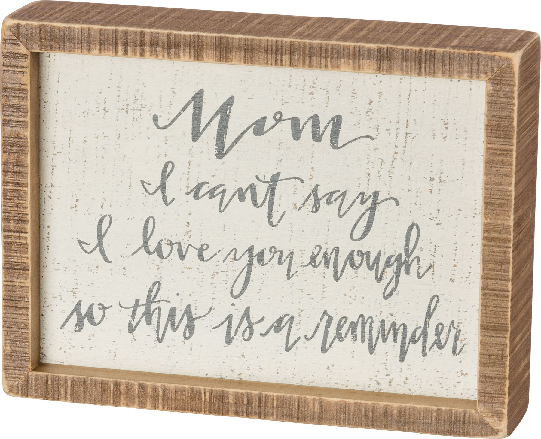 I Love That Youre My Nana Small Primitives by Kathy Wood Block Photo Holder