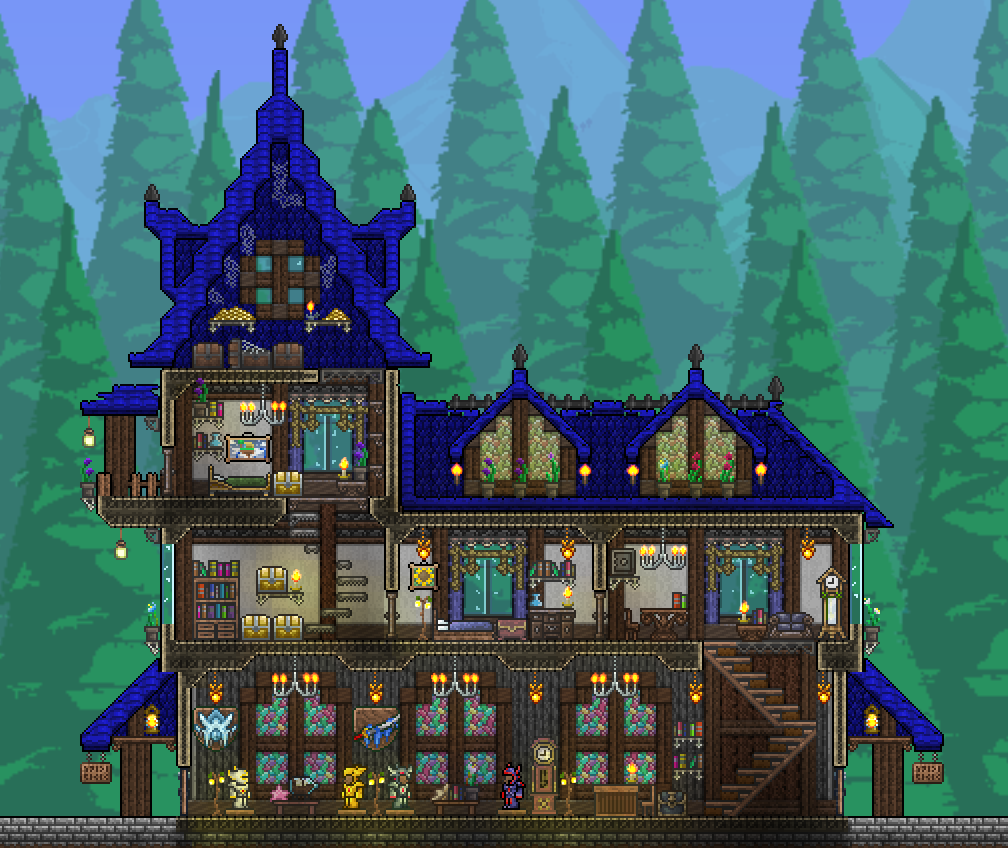 Home Design Ideas Game: Terraria, Projekte