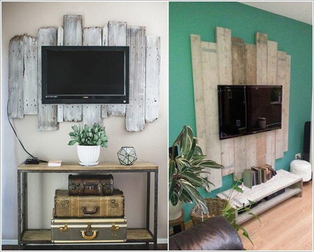 Pallett Tv Frame D 233 Coration Murale Chambre D 233 Coration