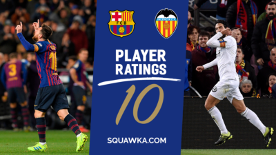 Player ratings Barcelona star's future plunged into doubt