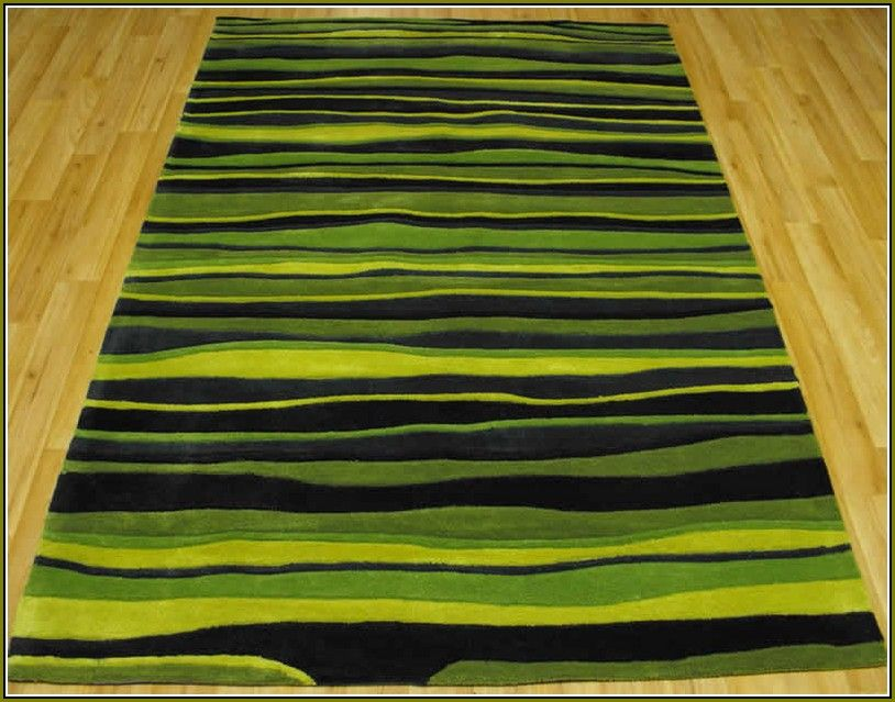 Lime Green Rug Rugs Lounge Interior Brown