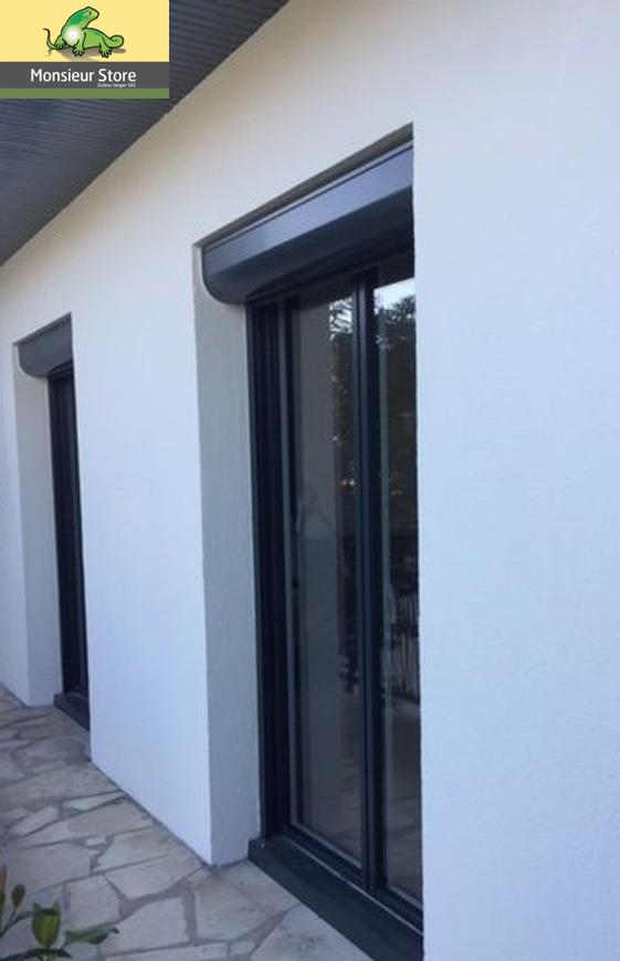 Porte Fenêtre Sur Mesure 2 Vantaux Ouvrants Au Design Contemporain