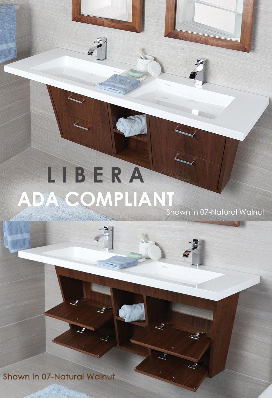 Ada Compliant Vanity Accessible Bathroom Design Ada Bathroom Handicap Bathroom