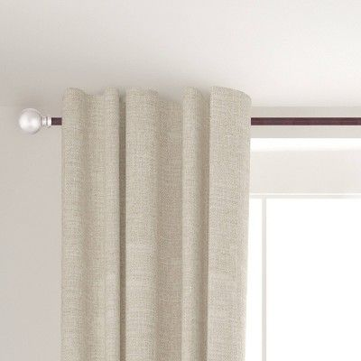 Edgar 5 8 Standard Decorative Window Curtain Rod Kenney Size