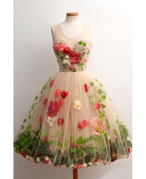 """Ivy Garden"" Party Dress"