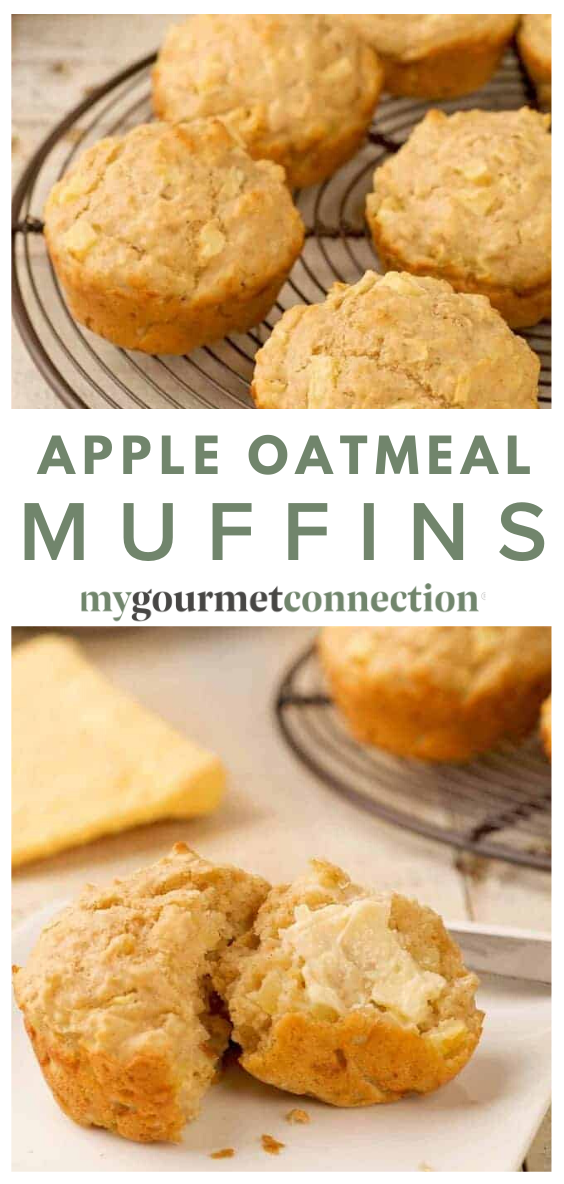 Apple Oatmeal Muffins Recipe In 2020 Buttermilk Recipes Fruit Recipes Snack Recipes