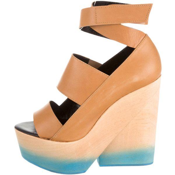 Pre-owned - Leather sandals Pierre Hardy n6jvueFfN3