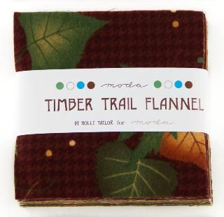 Timber Trail Flannel Charm Pack