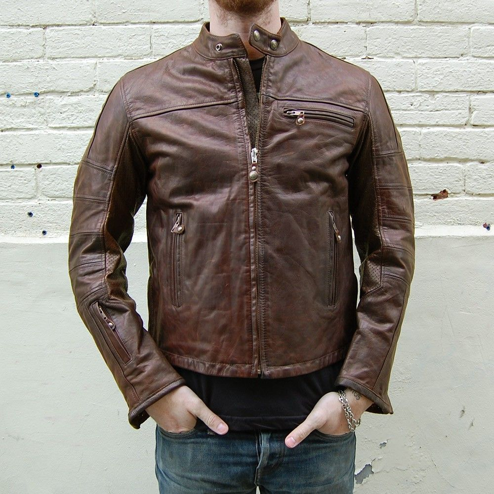 Roland Sands Ronin Jacket At Town Moto Leather Jacket Vintage Leather Jacket Roland Sands Design [ 1000 x 1000 Pixel ]