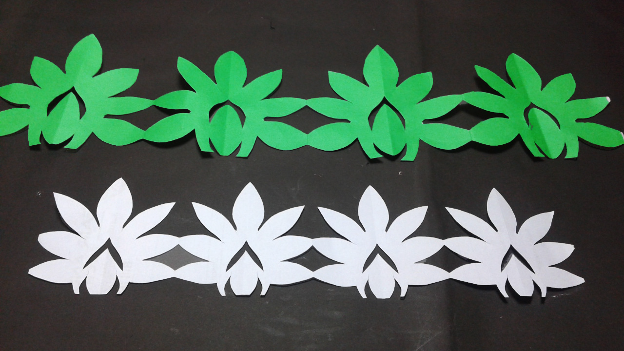 Paper Border Diy How To Make Simple Paper Cutting Border Design Easy