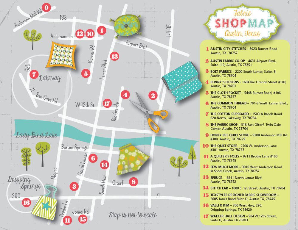 Indie fabric shops in Austin, TX | C.R.A.F.T. (Trips) | Pinterest ... : quilt shops in austin texas - Adamdwight.com