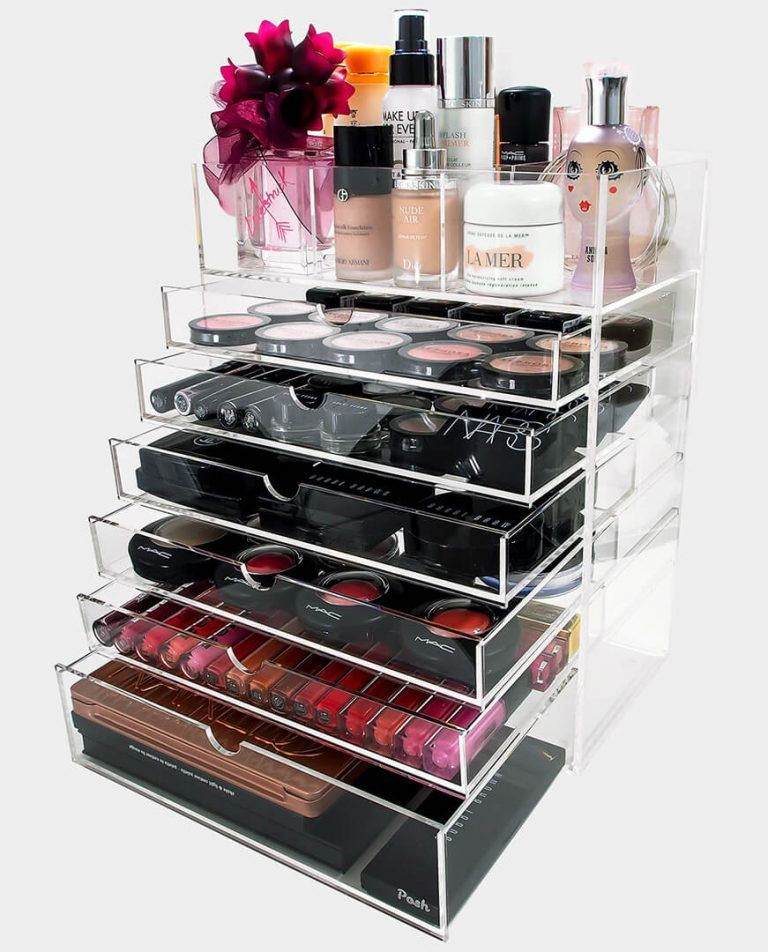 Ultimate 7 Tier Acrylic Makeup Organizer With Images Makeup