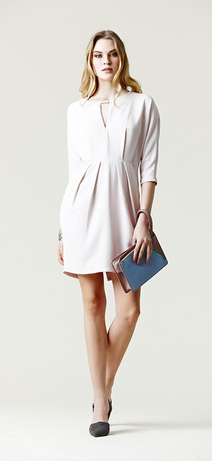 Fli rouge leggerezza: mini dress bianco