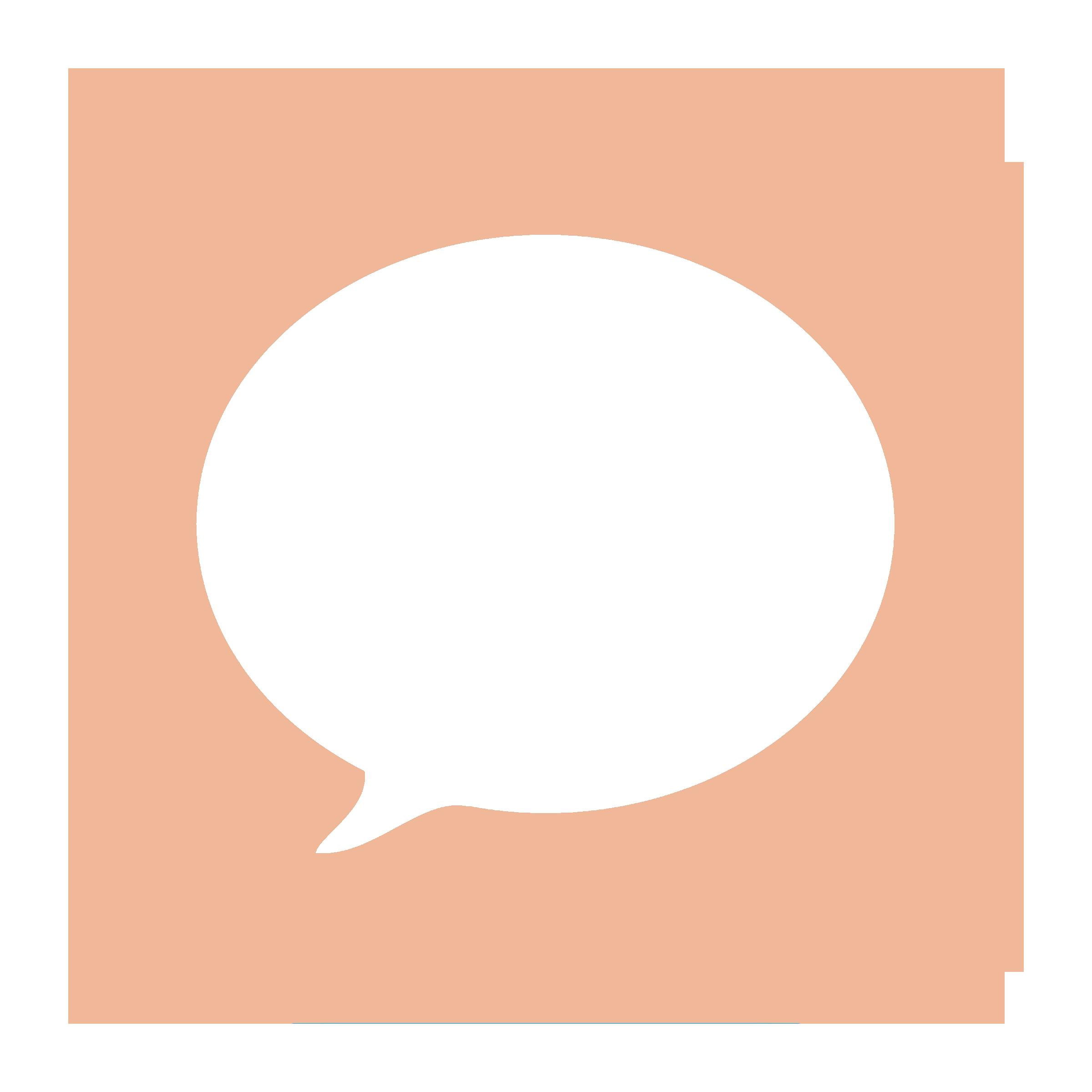 Peach Message Icon Iphone Organization Digital Organization App Icon