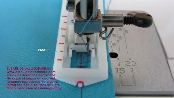 Coser ojales con máquina casera | Artesanías de costura