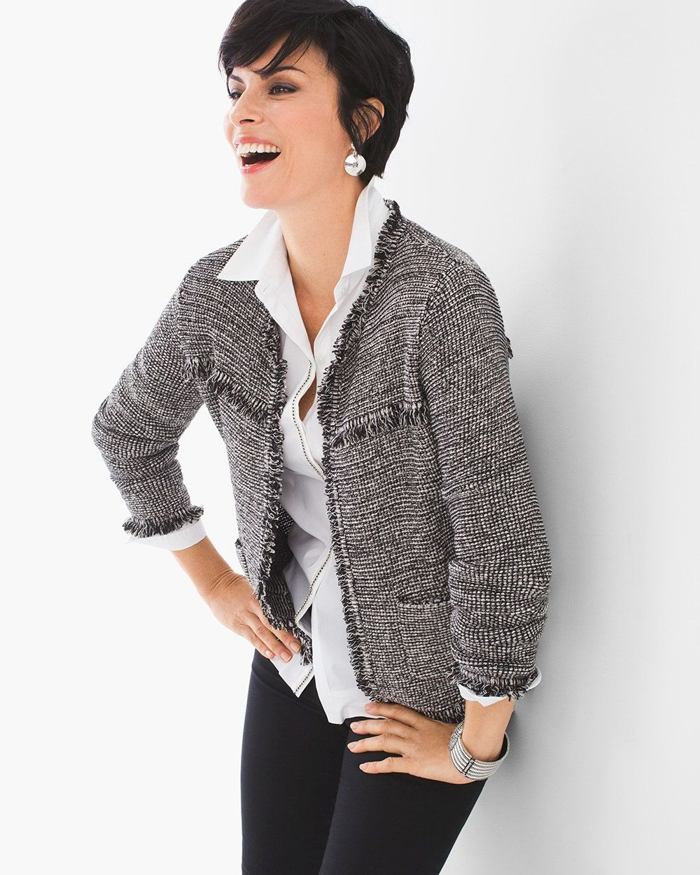 Chico's Women's Shawna Cardigan, Multi, Size: 0 (4/6 S) | Cardigans