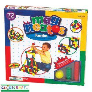 Amazon com: Magneatos Jumbo Magnetic Construction Toys: Toys