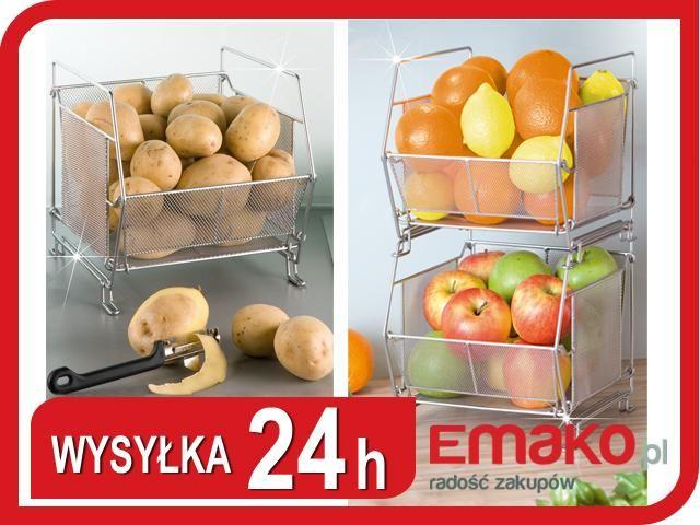 Kosz Na Owoce Warzywa Stojak Skrzynka Pojemniki Food Fruit Pear