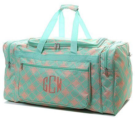 Weekend Travel Bag Monogram Personalized