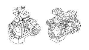 1991 KOMATSU KDC 410 And 610 Series Diesel Engine Workshop